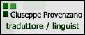 Giuseppe Provenzano – Traduttore / Linguist
