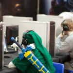 Link contro la feccia Zerg