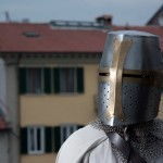 Primo piano del Templare