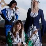 Rozen Maiden: Souseiseki, Suigintou e Suiseiseki
