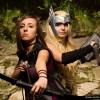 Thor e Occhio di Falco in versione femminile, tratte dagli Avengers