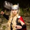 Thor in versione femminile, tratta dagli Avengers