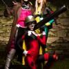 Gambit e Rogue (nei loro costumi originali, non quelle schifezze del film), tratti dagli X-Men e Harley Quinn, tratta da Batman