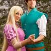 Rapunzel e Flynn, tratti da Tangled