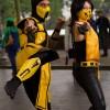 Scorpion in versione originale e femminile, tratti da Mortal Kombat