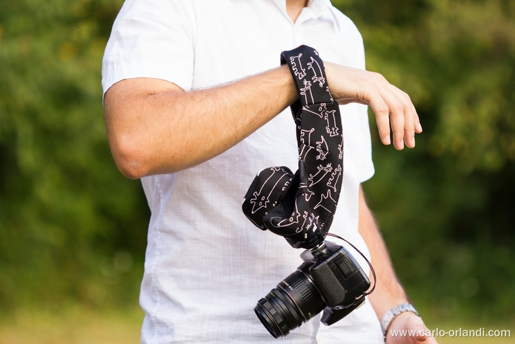 L'utilizzo del Grip&Wrap come cinghia da polso