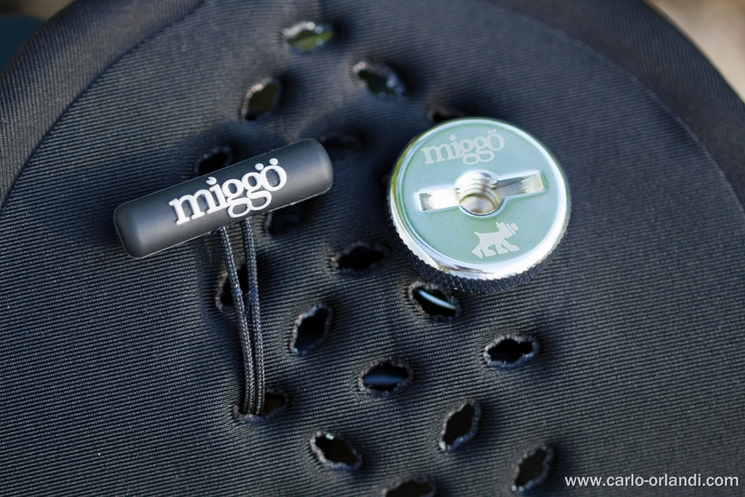 Il laccetto di sicurezza e la vita utilizzati per questi due accessori della Miggo