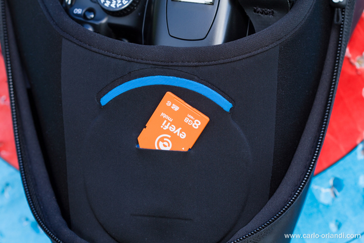 Tasca per la scheda SD