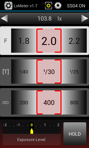 LxMeter - Esposimetro