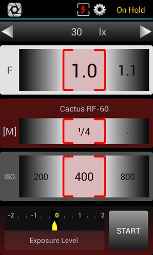 LxMeter - Esposimetro flash