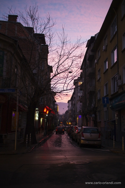 "Foto urbana al tramonto - ""After Market"""