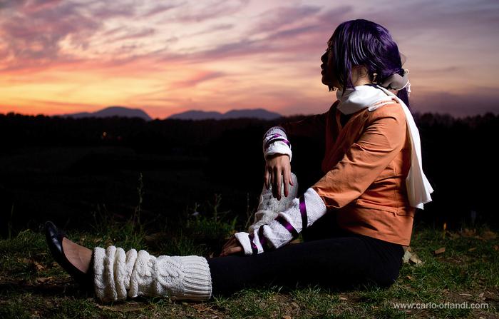 """Ritratto al tramonto - """"Yoruichi"""""""