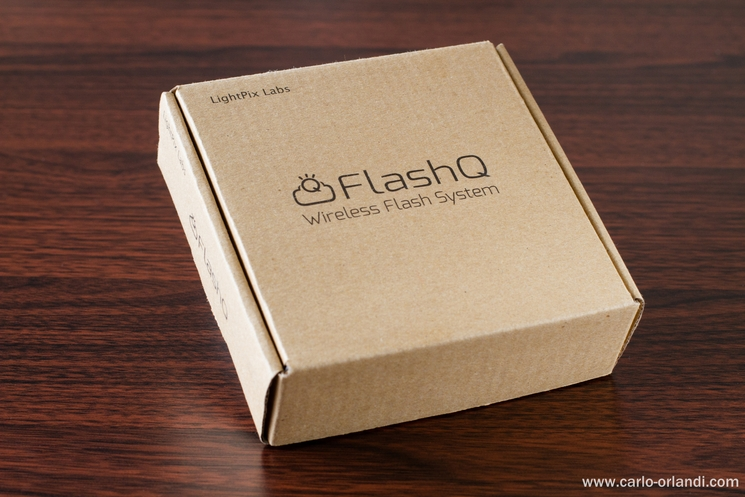 Il kit base del FlashQ Q20.