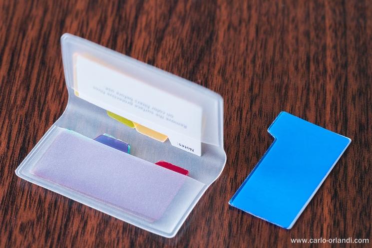 Il kit di gelatine incluse nella confezione.