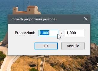 Proporzioni personali