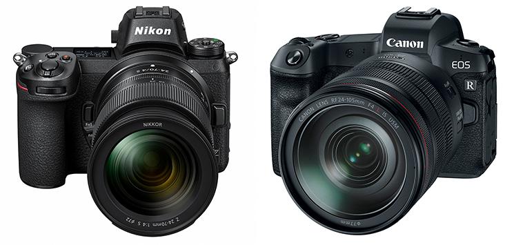 Nikon Z e Canon EOS R