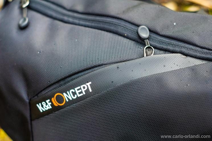 La tasca frontale del KF13.091.